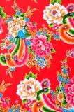 kinesiskt tyg Arkivfoto