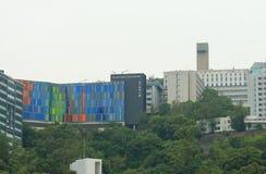 Kinesiskt universitet av Hong Kong royaltyfri foto