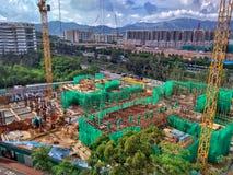 Kinesiskt universitet av Hong Kong Fotografering för Bildbyråer