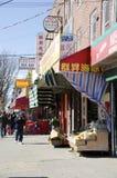 Kineskvarter för aveny U Arkivfoto