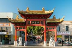 Kineskvarter i Adelaide Royaltyfri Bild