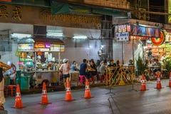 Kineskvarter i Bangkok - Thailand Fotografering för Bildbyråer