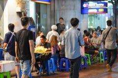 Kineskvarter i Bangkok - Thailand Arkivbilder