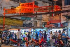 Kineskvarter i Bangkok - Thailand Royaltyfri Bild