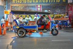 Kineskvarter i Bangkok - Thailand Royaltyfria Bilder