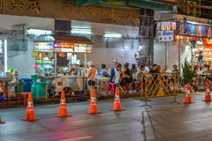 Kineskvarter i Bangkok - Thailand Royaltyfri Foto