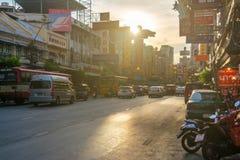 Kineskvarter i Thailand Arkivfoto