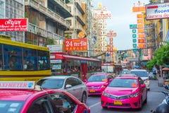 Kineskvarter i Thailand Royaltyfri Fotografi