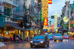 Kineskvarter i Thailand Royaltyfri Bild