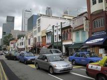 KINESKVARTER - SINGAPORE - JULI 2007: fotografering för bildbyråer