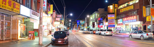 Kineskvarter Toronto royaltyfria foton