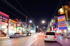 Kineskvarter Toronto arkivfoto