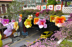 KineskvarterMitt--höst festival Royaltyfri Fotografi