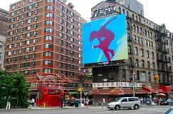 Kineskvarterområde i NYC på Juni 17, 2008, NYC Royaltyfria Bilder