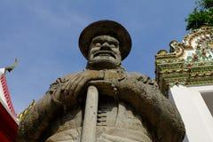 Kinesskulpturer i tempel arkivfoton