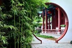 kinesträdgård Arkivfoto