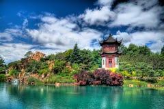 kinesträdgård Arkivbild