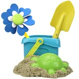 Kinetic Sand With Child Toys For Indoor Children Creativity Game Royalty Free Stock Images