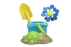 Kinetic Sand With Child Toys For Indoor Children Creativity Game Stock Image