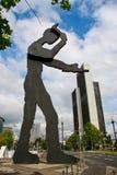 Kinetisch beeldhouwwerk   Stock Foto