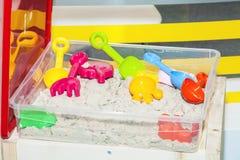 Kinetisch zandstuk speelgoed Royalty-vrije Stock Afbeeldingen