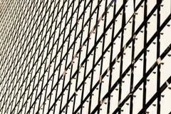 Kinetische Fassade des Gebäudes lizenzfreies stockbild