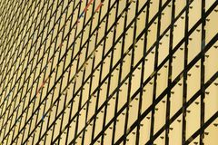 Kinetyczna fasada budynek obraz stock
