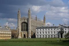 King�s College Chapel Royalty Free Stock Photography
