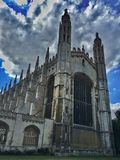 King& x27; коллеж s, университет Кембриджа стоковые фотографии rf