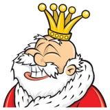 King. Illustration 2d Medieval Castle vector illustration