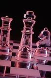 The King. View a a few chess pieces Royalty Free Stock Photography