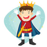King Royalty Free Stock Photo
