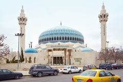 King Abdullah I mosque in Amman, Jordan Royalty Free Stock Photos