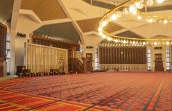 King Abdullah I mosque interior Stock Photography