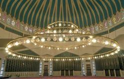King Abdullah I mosque interior Stock Photo