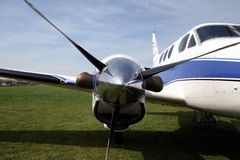King air skydiving jump ship Royalty Free Stock Photography