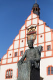 King Albert of Saxony Monument, Plauen Royalty Free Stock Image
