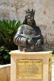 King Alfonso statue, El Puerto de Santa Maria. Royalty Free Stock Image