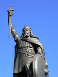 King Alfred The Great Statue royalty free stock image