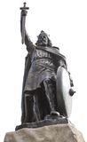 King Alfred The Greats statue Royalty Free Stock Images