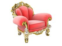 King armchair vector illustration