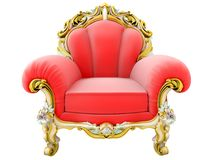 King Armchair Stock Images