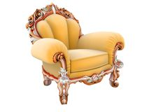 King armchair stock illustration