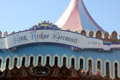 King Arthur Carrousel, Disneyland, Anaheim, California Royalty Free Stock Photography