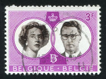 King Baudouin and Queen Fabiola Royalty Free Stock Photo