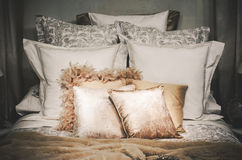 King bed Royalty Free Stock Photos