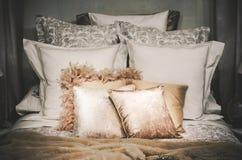 King bed royalty free stock photos