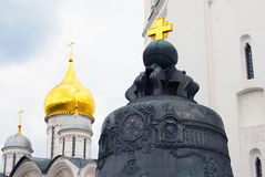 The King Bell and Archangels church. Moscow Kremlin. Stock Photography