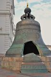King Bell in Moscow Kremlin. Color photo. Royalty Free Stock Image