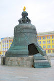 King Bell in Moscow Kremlin Stock Photos